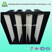 V-bank hepa air filter for Rigid Box Filter Heating Ventilation and Air Conditioning Quality Choice Most Popular